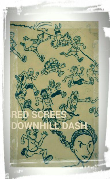 downhill cartoon 382x622 Downhill race   final update