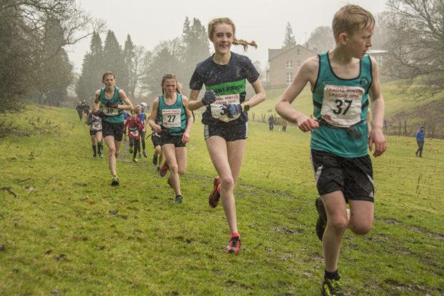 Sophie Rylance Giggleswick Kendal Winter League Fell Runner Fell Race