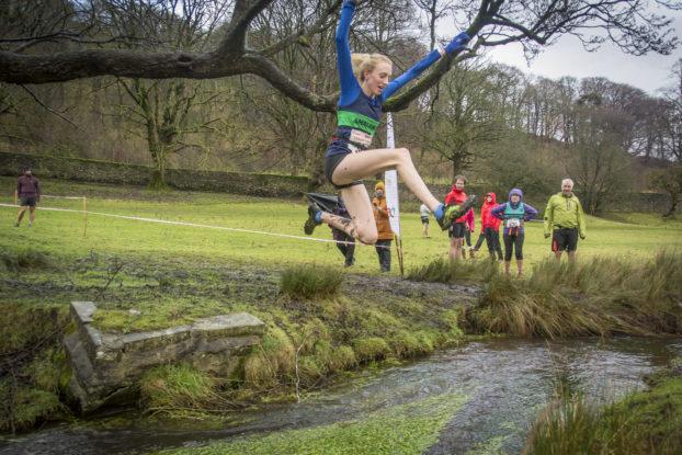 Chloe Rylance Giggleswick Kendal Winter League Fell Runner Fell Race