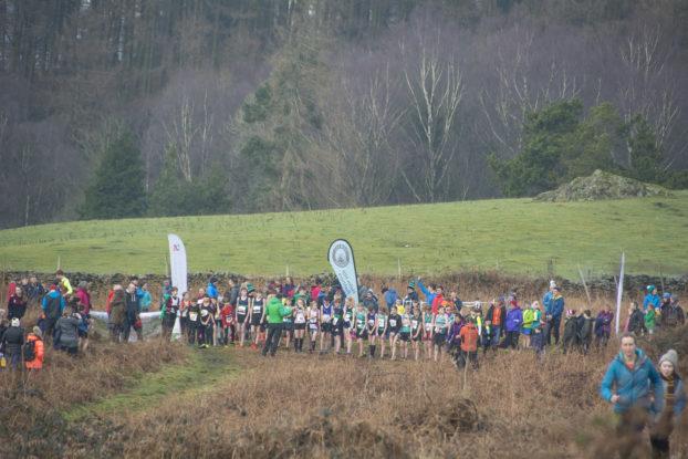 Sophie Rylance Whitestones Kendal Winter League Fell Runner Fell Race
