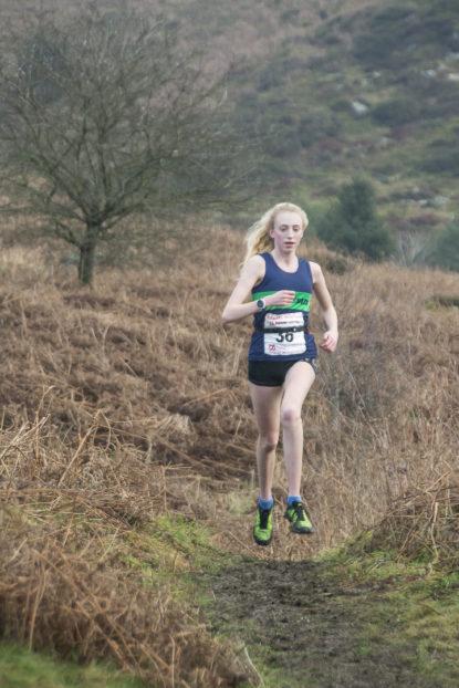 Chloe Rylance Whitestones Kendal Winter League Fell Runner Fell Race