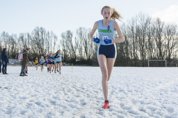 Chloe Rylance Northerns Cross Country Race
