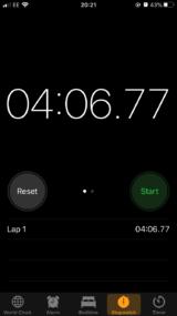freds 1km time 160x285 Fast Feet (km)